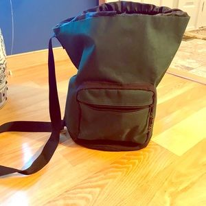 Other - Canvas duffel bag; 2 side pockets, drawstring